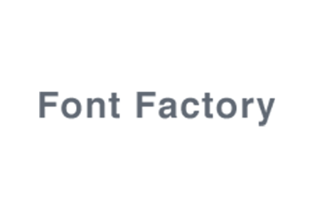 Font Factory